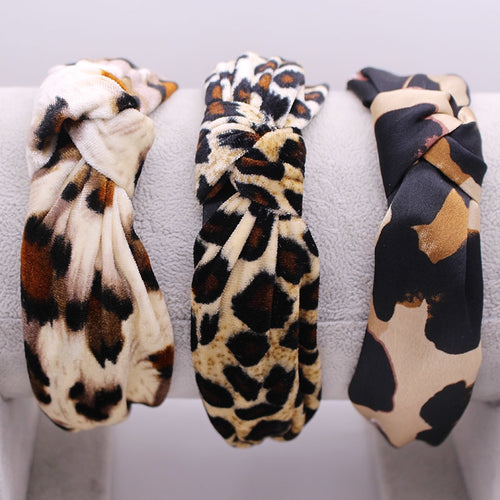 Leopard Knot Hairband