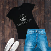 Men's Wide Crew Neck | Logo Designer Tee