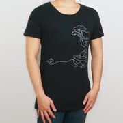 Men's Wide Crew Neck | Bonsai Designer Tee
