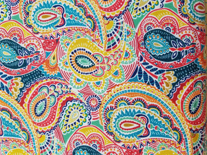 Folk Friends by Makower, Paisley Multi color