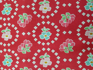 Granny Chic Curtains, Red, Lori Holt