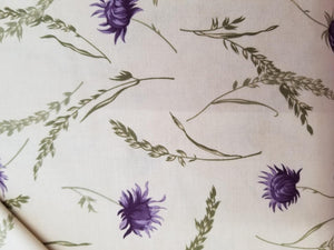 Mill Creek Garden, Ivory/purple clover