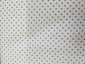 Swiss Dot, White/Clover Green, small