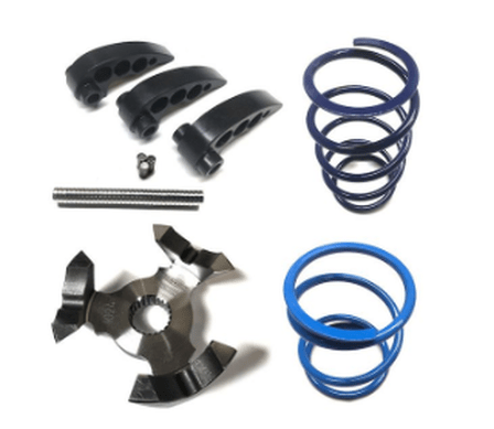 STAGE 3 RZR XP TURBO ADJUSTABLE RECOIL CLUTCH KIT WITH HELIX - R1 Industries whips