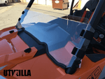 2014 - 2018  RZR 900, 1000, TURBO Polycarbonate Half Windshield with Quick Straps (upgrade options)