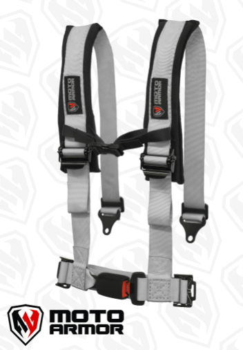 FOUR POINT HARNESS , OEM STYLE LATCH - R1 Industries whips