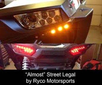 Ryco Street Legal Kit - R1 Industries whips