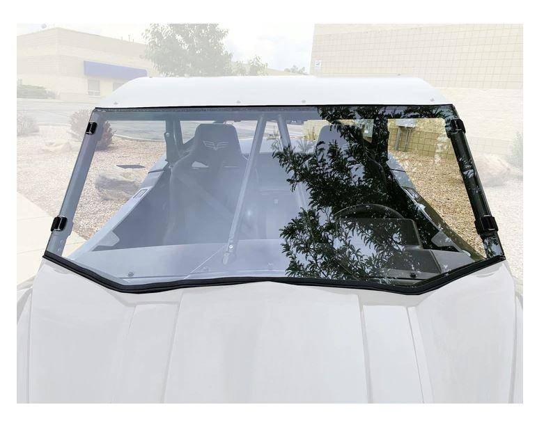 Wildcat XX Full Polycarbonate Windshield UTV Zilla - R1 Industries whips