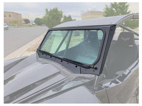 Wildcat XX Vented Glass Windshield with Wipers UTV Zilla