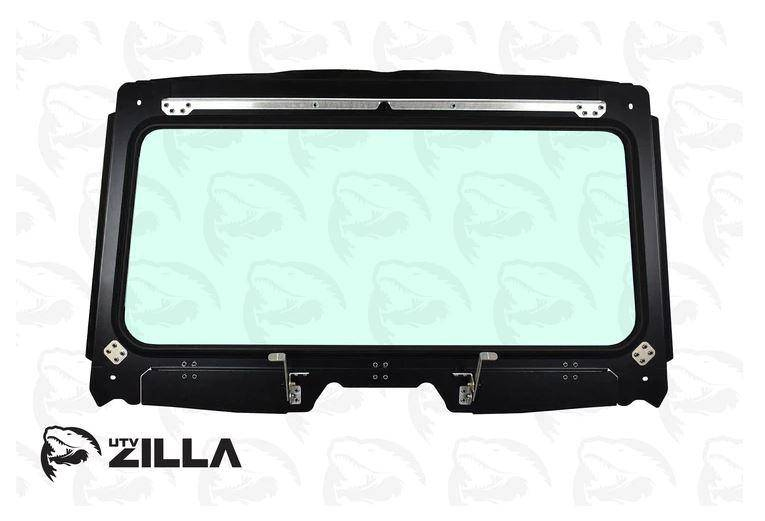 Honda Talon Vented Full Glass Windshield with Wiper UTV Zilla - R1 Industries whips