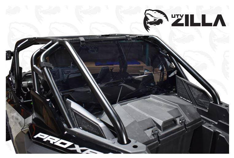 Polaris RZR Pro XP 4 Tinted Rear Window (4 Seat Only) UTV Zilla - R1 Industries whips
