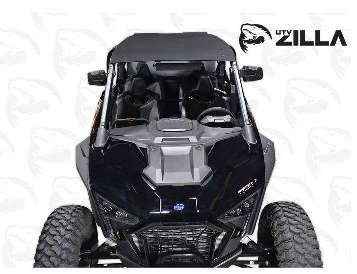 "UTV Zilla 1/4"" Plastic Roof for 2020 RZR PRO XP4 - R1 Industries whips"