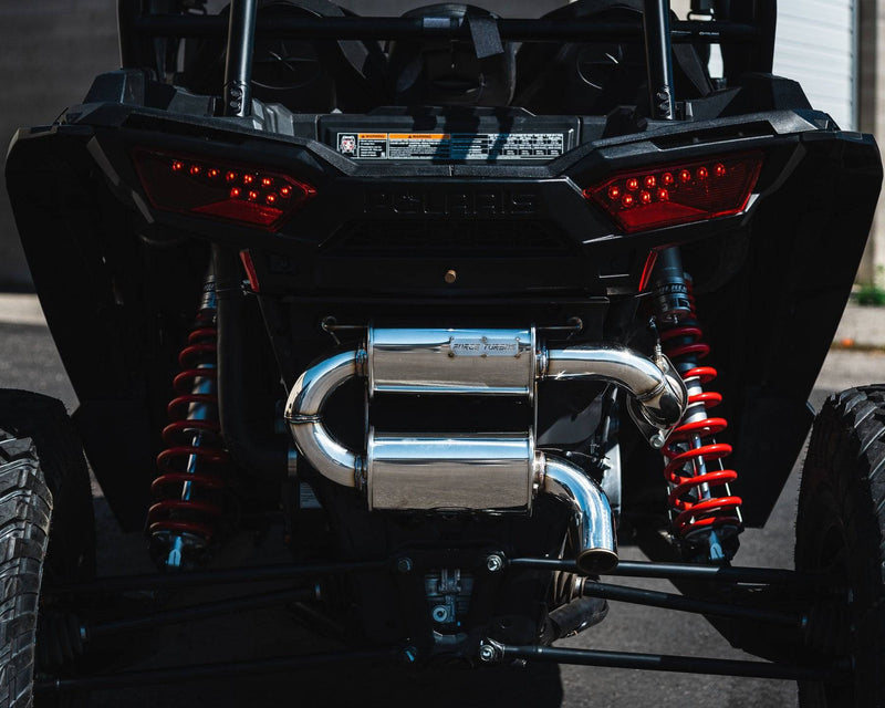 POLARIS RZR TRAIL EXHAUST - R1 Industries whips