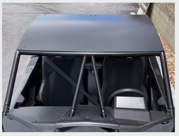 Wild Cat Aluminum Roof Moto Armor - R1 Industries whips