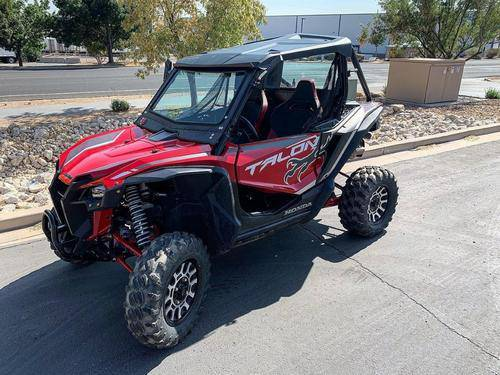 Honda Talon Front Windshield (fits 2019-2020) Dirt Warrior Accessories - R1 Industries whips