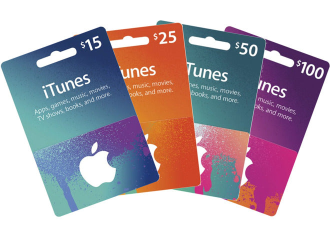Sell Itunes Gift Card For Vodafone