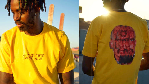 GOLDEN DAYS - GOLDEN RULE TEE
