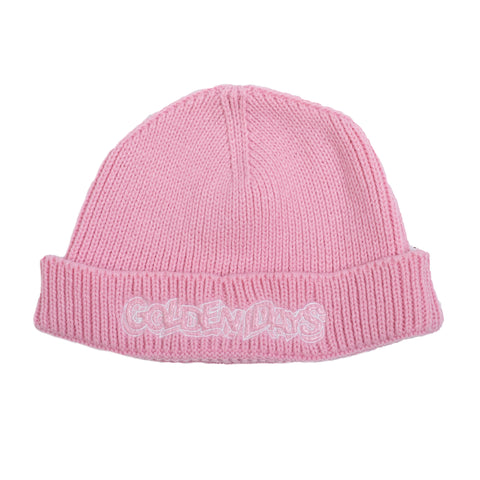 GOLDEN DAYS EMBROIDERED LOW CUT BEANIE