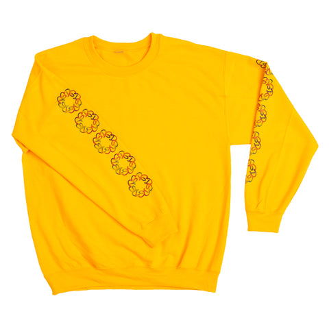 GOLDEN DAYS ON THE SLEEVE CREWNECK
