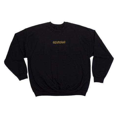GOLDEN DAYS EMBROIDERED LOGO  CREWNECK