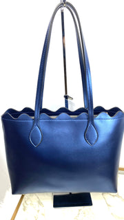 Ellie Leather Tote Handbag