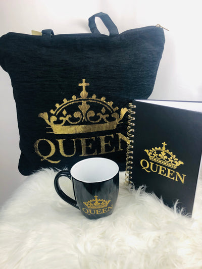 Queen Tote Gift Bag Set