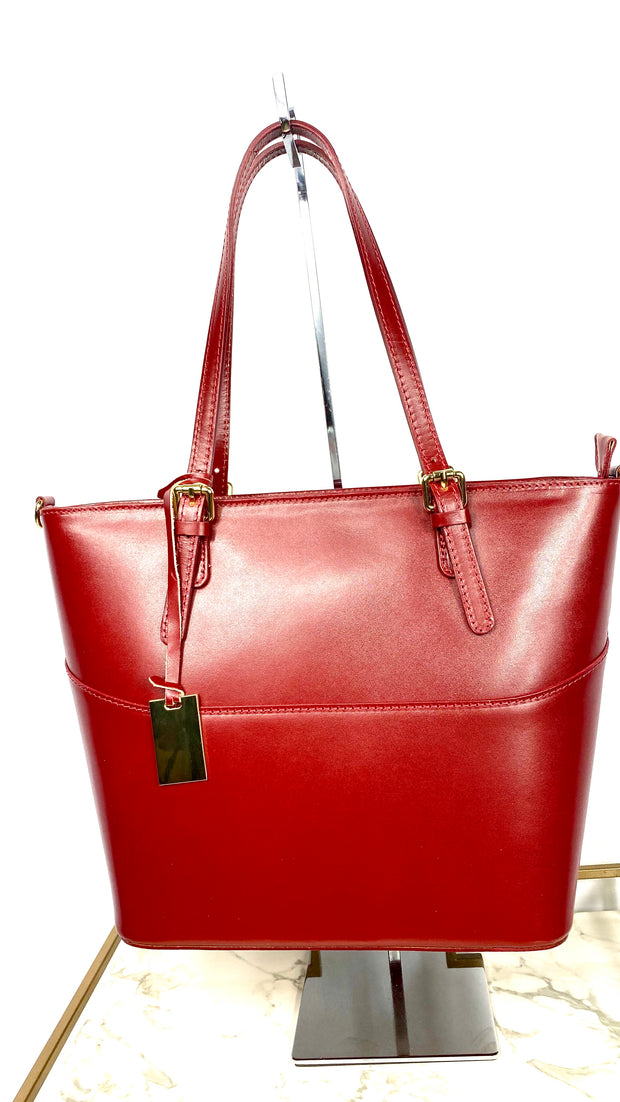 Lexy Leather Tote Bag