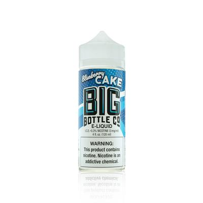 Big Bottle Co E-Liquid - Blueberry Cake