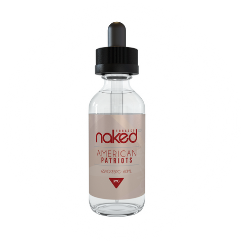 Naked 100 E-Liquid - American Patriots