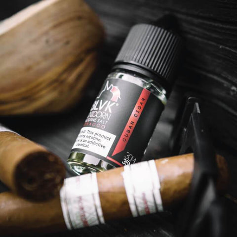 BLVK Unicorn Nic Salt E-Liquid - Cuban Cigar (Tabacco)