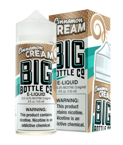 Big Bottle Co E-Liquid - Cinnamon Cream