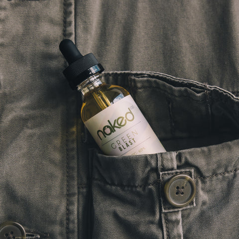 Naked 100 E-Liquid - Green Blast