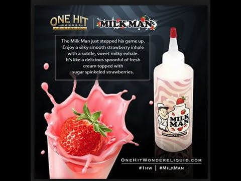 One Hit Wonder E-Liquid 180ml - Milk Man