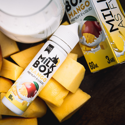 BLVK Unicorn E-Liquid - Milk Box Mango