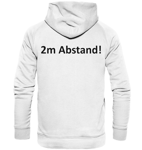 2m Abstand - Basic Unisex Hoodie