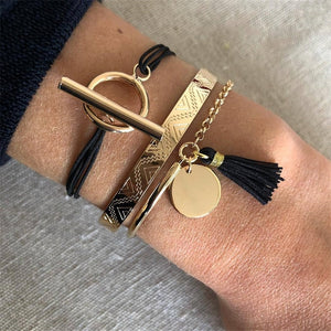 Golden Set- Armband