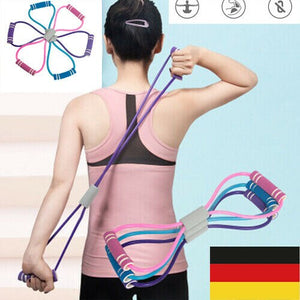 Widerstandsbänder Übung Yoga Elastic Fitness Gym Training Workout Rope