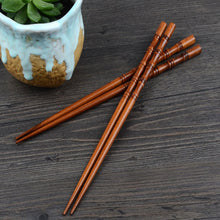 Load image into Gallery viewer, Reusable Bamboo Chopsticks