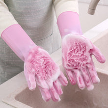 Load image into Gallery viewer, Silicone Dishwashing Gloves