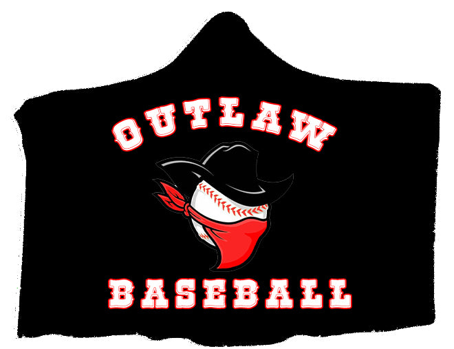 Outlaws Hooded Fleece Blanket