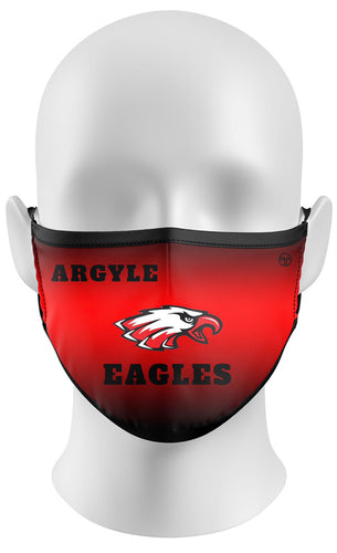 Argyle Eagles Face Mask