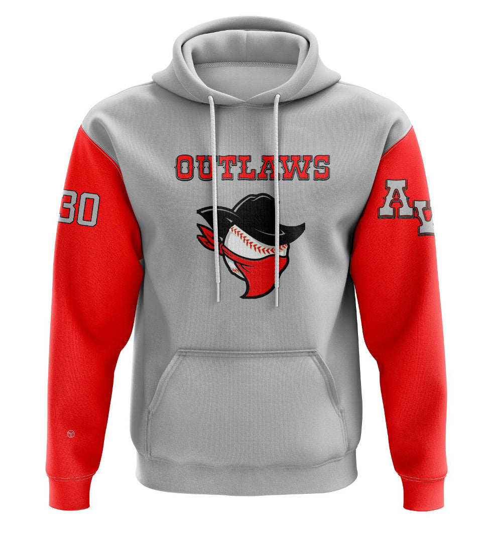 Outlaws Sublimated Hoodie