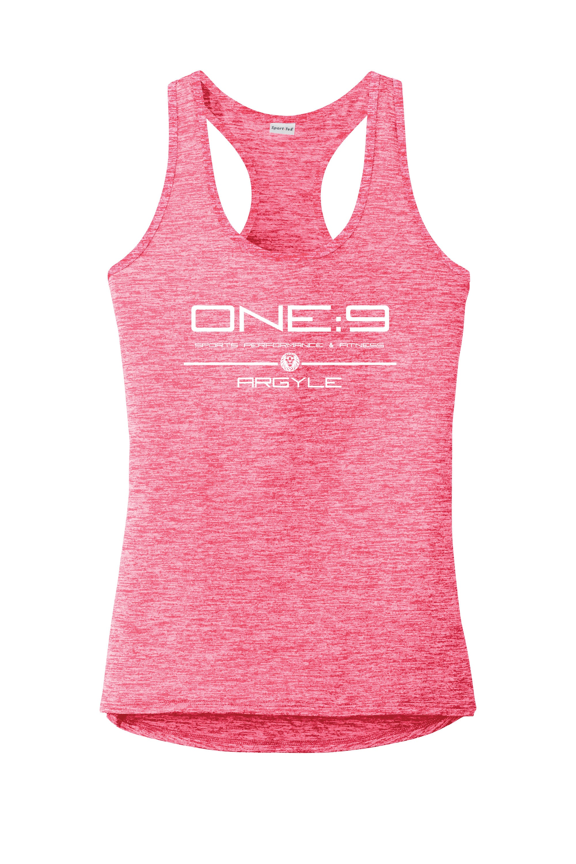 Sport-Tek® Ladies PosiCharge® Electric Heather Racerback Tank