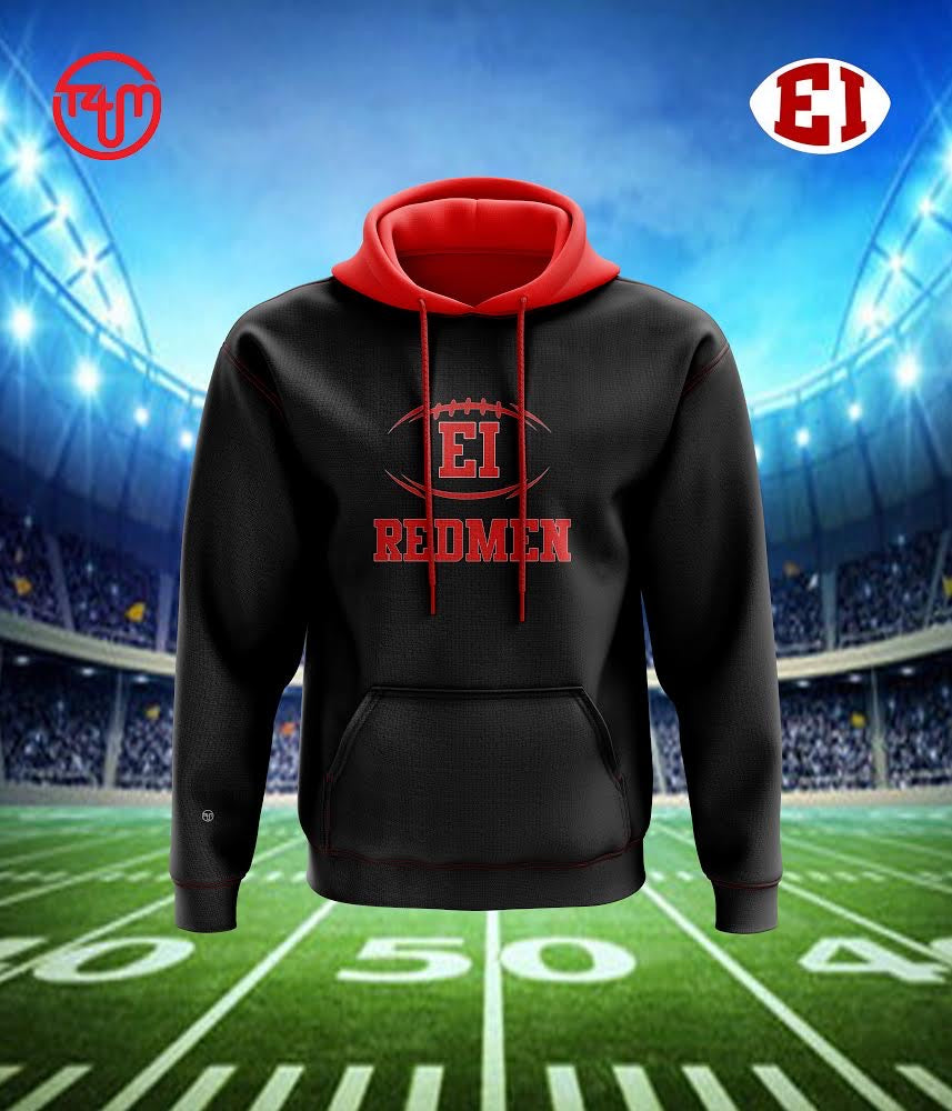 East Islip Football Sublimation Hoodie - (Pre Order Ends Friday, March 19th)