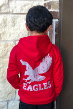 Load image into Gallery viewer, Argyle Eagles Youth Distressed Zip Up Hoodie | T4M Apparel