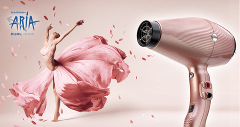 Gamma+ Aria Dual Ionic Hair Dryer