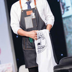 Agenda Barber Denim Apron
