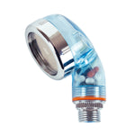 Bifull Ionic Shower Head Transparent Blu
