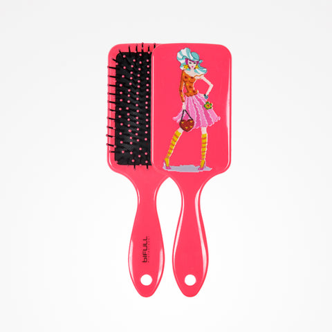 Fashion Paddle Brush Pink