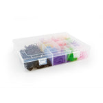 Bifull Elastic Bands Box Multi Colour